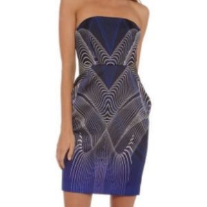 Play With Fire Geometric Dress